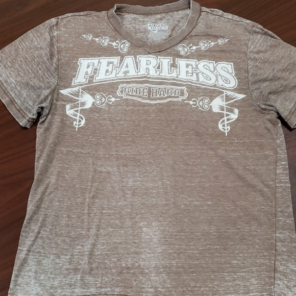 Open Trails Other - Open Trails Fearless Ride Hard Burn Out Tee